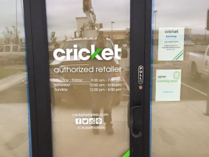 Lettering for Cricket Wireless