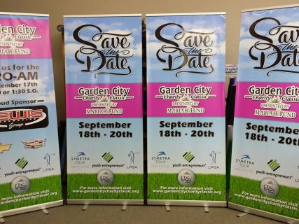 Banners for LPGA Charity