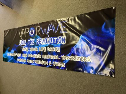 VaporWave Banner