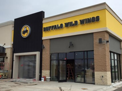 Sign for Buffalo Wild Wings