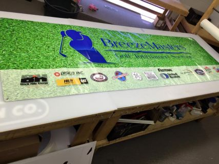 Banner for Breeze Master Golf Tournament