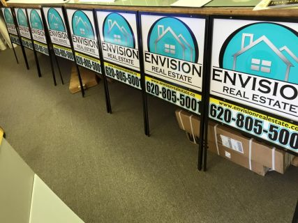 Envision Real Estate Signs