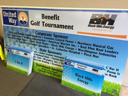 Banner for United Way Benefit