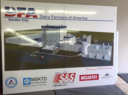 Sign for Dairy Farmers of America